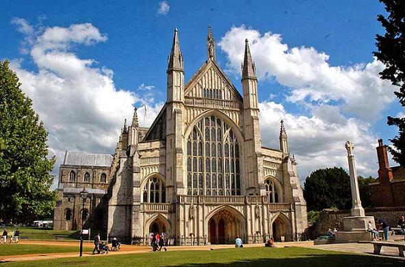 Уинчестерский собор (Winchester Cathedral), Англия