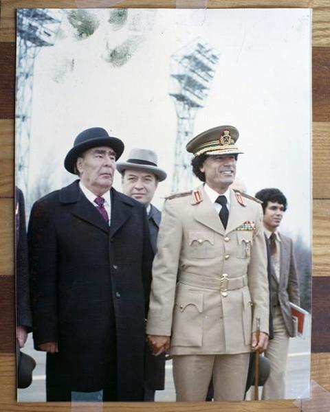 Брежне в Каддафи