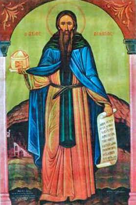 Преподобный Леонтий Монемвасийский