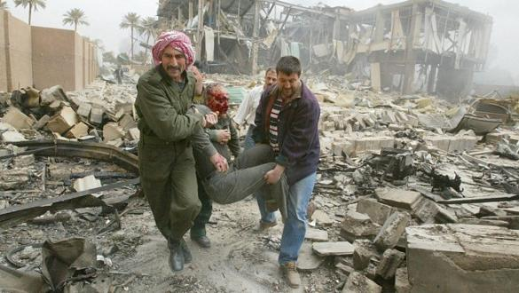 бомбардировки Ирака 2003