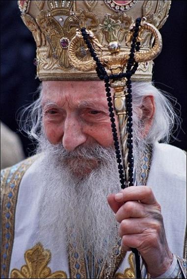 Сербский патриарх Павел 4