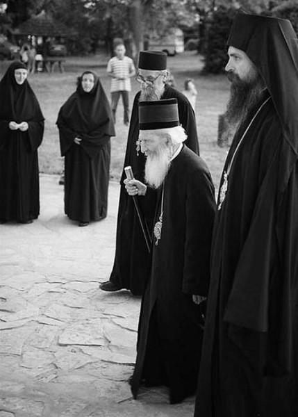 Сербский патриарх Павел 5