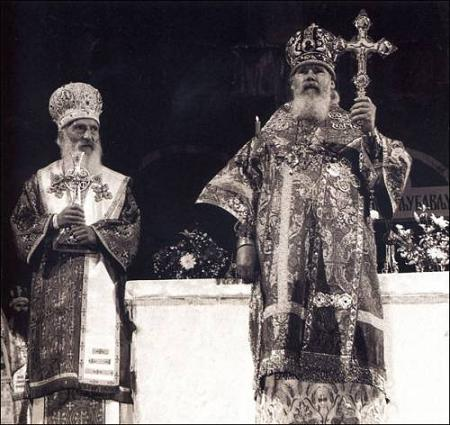 Сербский патриарх Павел 8