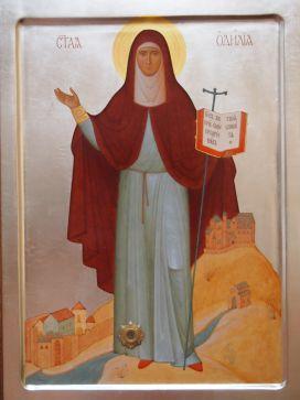 Преподобная Одилия Эльзасская (Odilia, Ot[t]ilia), игумения Хоэнбургская 1