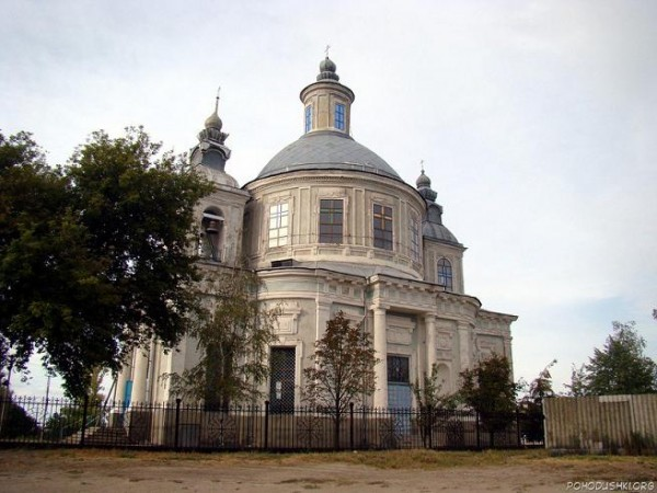 Церковь Успения Пресвятой Богородицы (Осиново Луганская область)