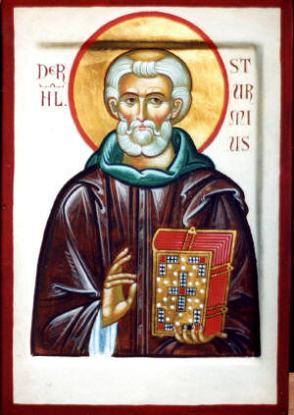 Святой Штурм, основатель и игумен монастыря Фульда