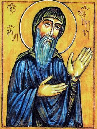 Преподобный Макарий постник, настоятель Хахульского монастыря