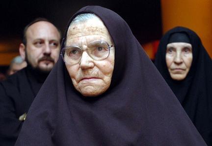 игуменья Печской патриархии мать Феврония