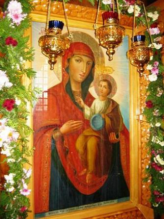 Икона Пресвятой Богородицы Байбузская