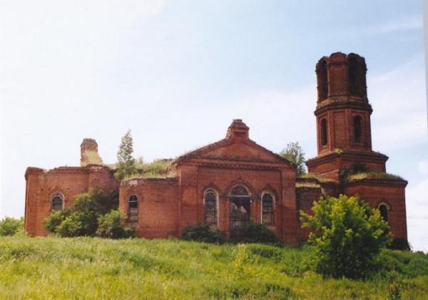 Церковь Космы и Дамиана - Озерки - Сараевский район - Рязанская область, не действует