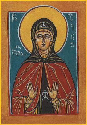 Преподобная Сабиана Самцхетская (Самцхийская), игумения