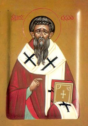 Святитель Кедд Ластингемский (Cedd, Cedda), епископ