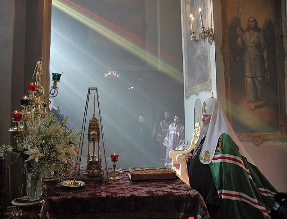 Патриарх Алексий 2 Литургия