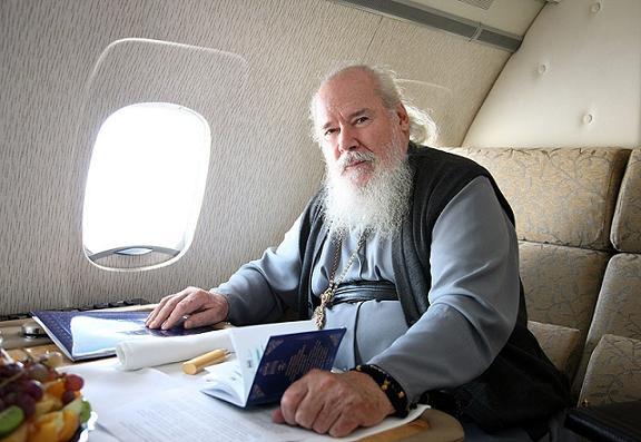 Патриарх Алексий 2 в самолете