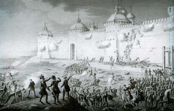 Осада Троице-Сергиевой Лавры поляками