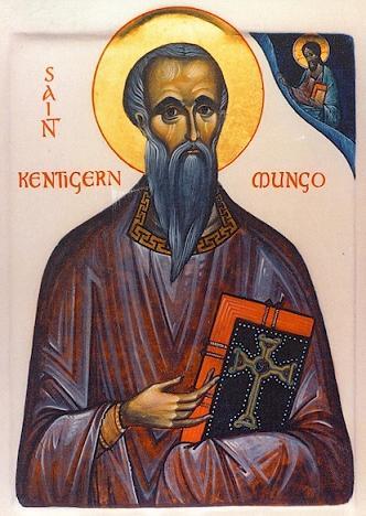 Святитель Кентигерн Стрэтклайдский или Мунго, епископ Глазго