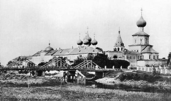 Желтиков мужской монастырь в честь Успения Пресвятой Богородицы, фото 1890-е гг.