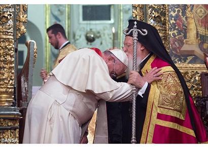 патр. Варфоломей и папа