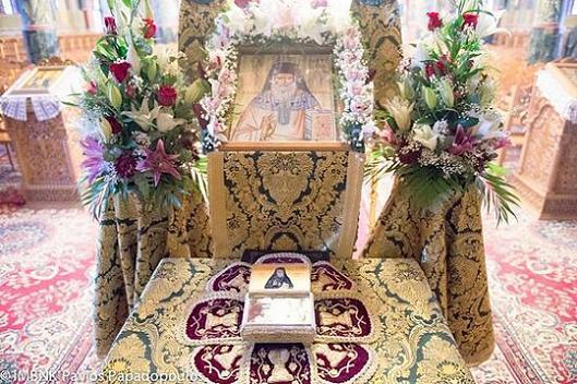 В храме Успения Пресвятой Богородицы в Александрии