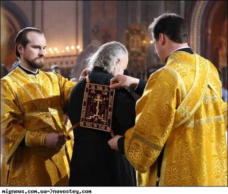 интронизация патриарха Кирилла