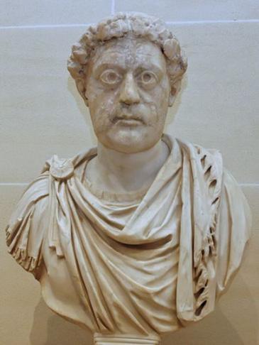 Св. император Лев I Великий. Бюст, Лувр