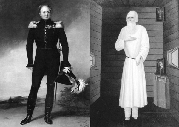 Святой праведный Феодор Томский и император Александр I