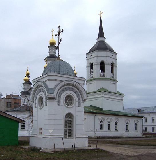 Богородице-Алексиевский монастырь - Томск, часовня над могилой прав. Феодора Кузьмича