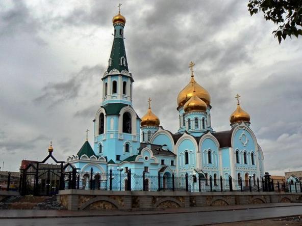 Собор иконы Казанской Божьей матери, г.Чита