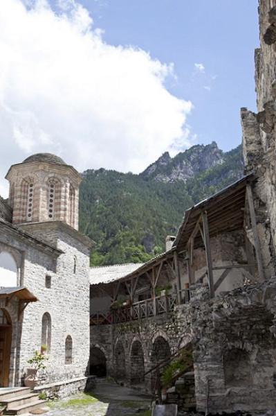 Монастырь Св. Дионисия, гора Олимп, Греция