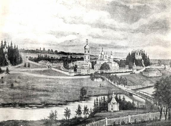 Свято-Троицкий Павло-Обнорский монастырь до революции
