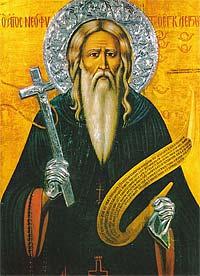 Преподобный Неофит Затворник, Кипрский