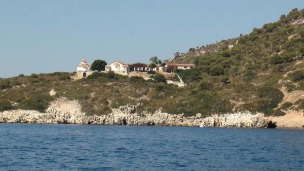 монастырь на о. Прото, Греция