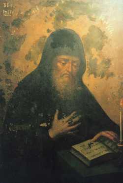 Преподобный Зинон Печерский, постник и трудолюбец