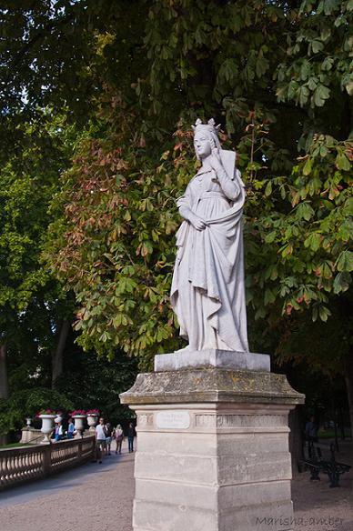Св.Батильда, Люксембургский сад, Париж