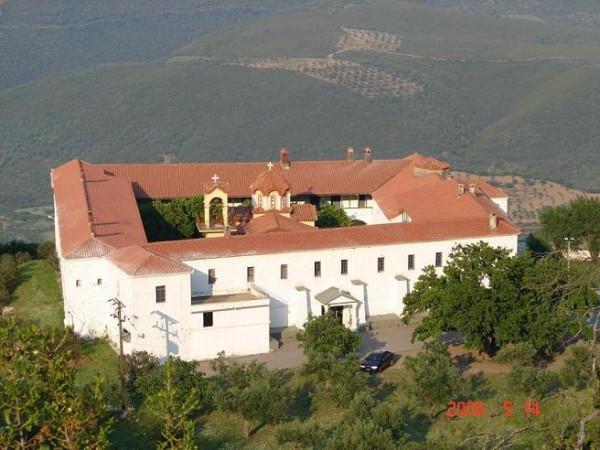 Монастырь Панагия Voulkaniotissas