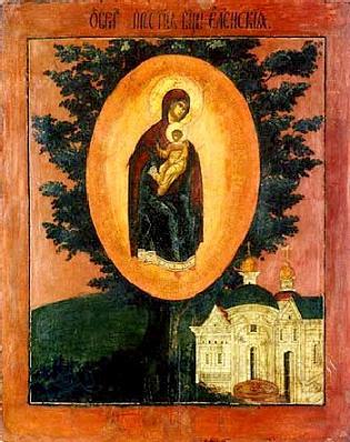Елецкая-Черниговская икона Божией Матери