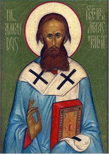 Святитель Аманд Маастрихтский, епископ
