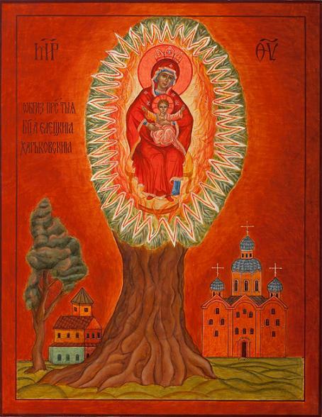 Икона Богородицы Елецкая-Харьковская