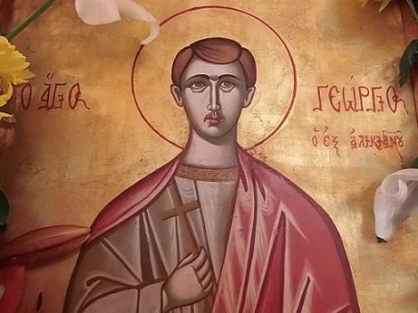 Мученик Георгий Аликианский, Критский