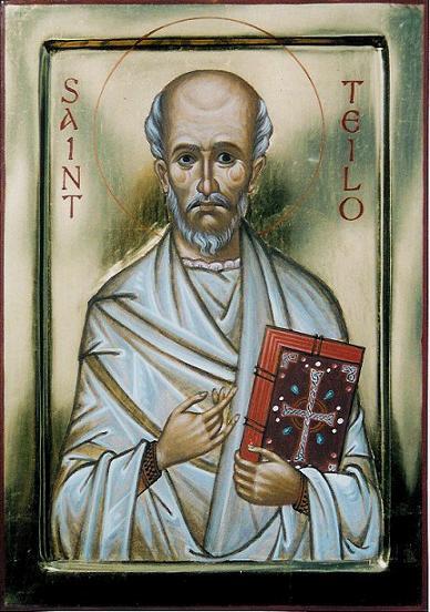 Преподобный Тейло Лландафский (Teilo), игумен, епископ