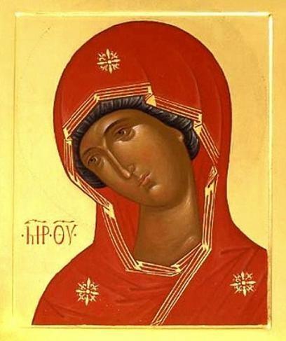 Икона Богородицы «Огневидная»