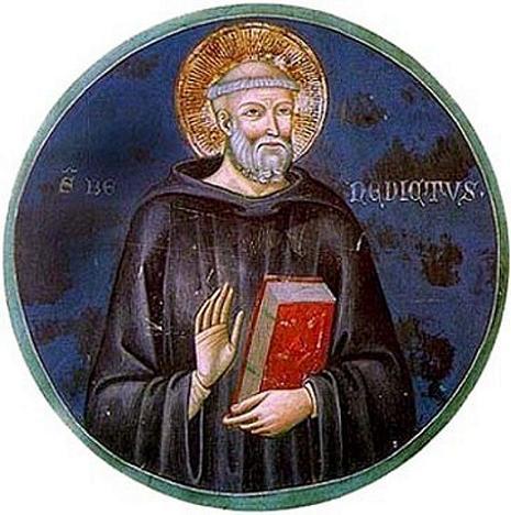 Преподобный Венедикт Анианский, игумен
