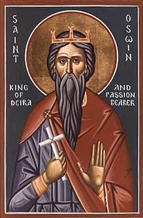 Святой король Осви Нортумберийский