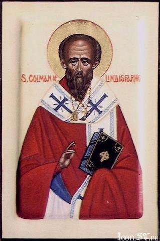 Святитель Колман Линдисфарнский (Colmán) , епископ