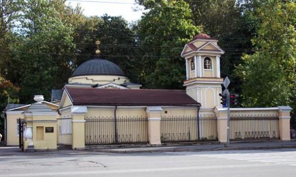 Церковь Николая Чудотворца на Большеохтинском кладбище - Красногвардейский район - Санкт-Петербург