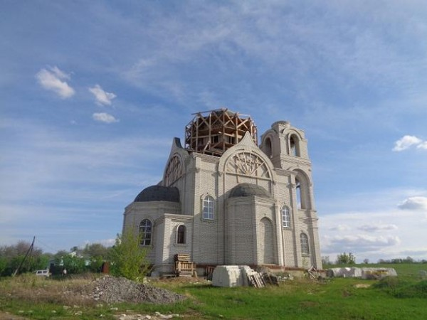 Церковь Михаила Архангела - Семидесятное - Хохольский район, 2015 год