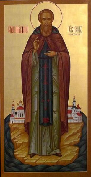 Преподобный Герман Столобенский, иеромонах