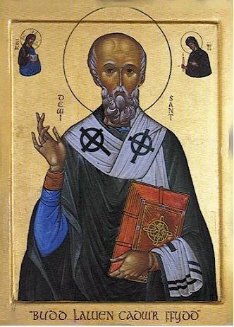 Святитель Давид Валлийский, епископ