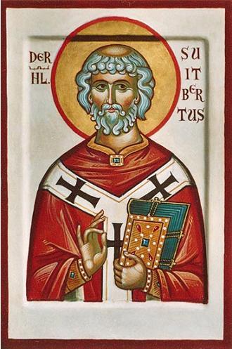 Преподобный Свитберт Кайзервертский (Swithbert), епископ