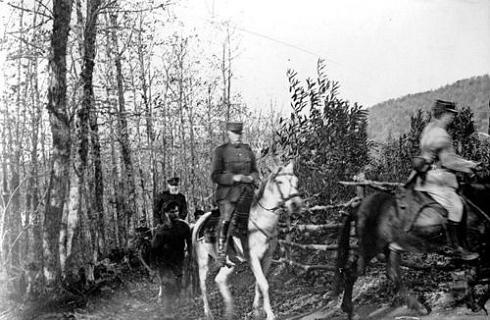 Французские боевые части на Афоне 1918 год. Марш от Пантелеимона в Лавру